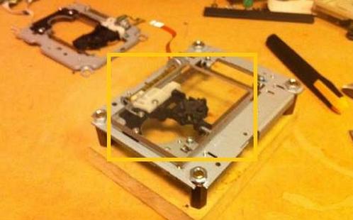 arduino: 手工制作激光雕刻机:废旧光驱的涅盘之路